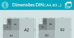 Dimensoes DIN