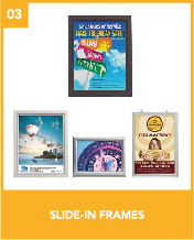 Slide-In Frames