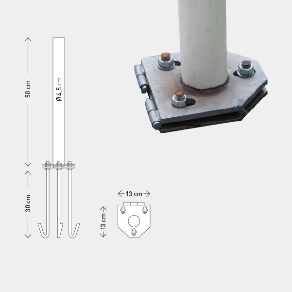 Base Basculante 50cm