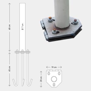 Base Basculante 60cm