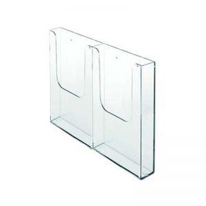 Bolsa Acrilico C/Adaptador Para Porta Brochuras MULTI – 2×1/3 A4