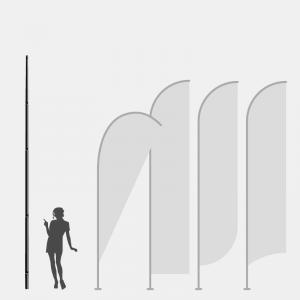 Mastros Para Bandeira Promocional