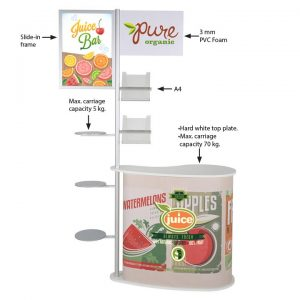 Seed Promostand With Pole System 1