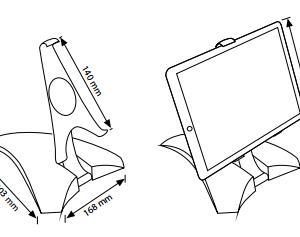 Suporte PIRÂMIDE Para Tablet E Smartphone