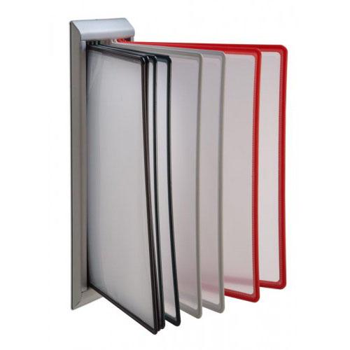 Suporte Rack de parede com Bolsas Rack A4