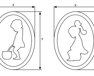 WC Simbolos Decorativos