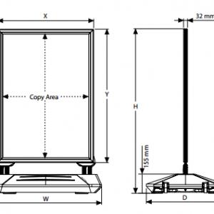 "WaterBase Wind-Pro Preto - A1 - B2 - 20""x30"""