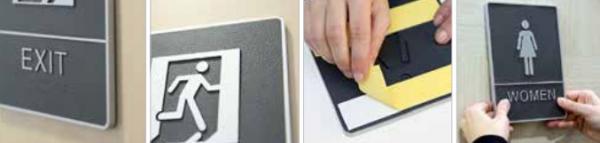 ABS Plastic Braille